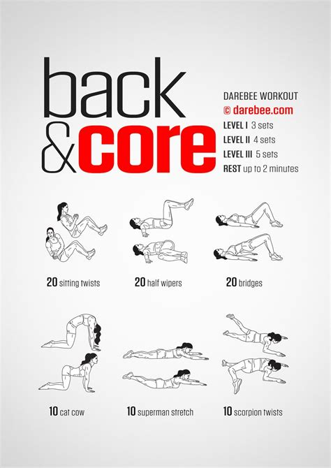 back workout neilarey darebee workout morning workout fitness