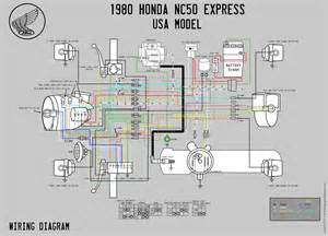 honda nc50 wiring diagram honda get free image about