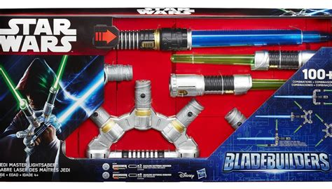 Hasbro Jedi Master Lightsaber Bladebuilder Pedang Wars War wars bladebuilders jedi master lightsaber 2015