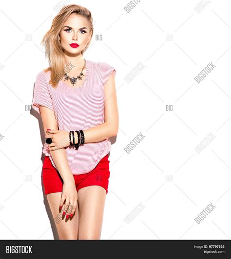 casual model girl teenage fashion stylish model girl image photo bigstock
