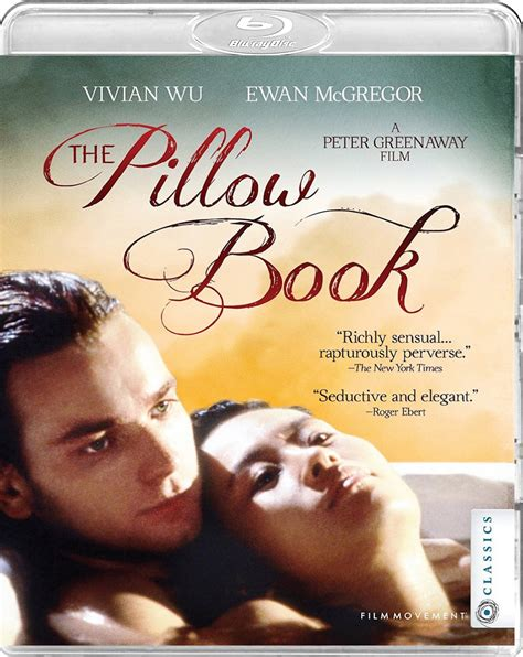 The Pillow Book - and dvd covers movement rays after