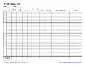 relay for walking schedule template free printable running log or walking log template for excel