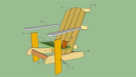 deck chair template adirondack chair pattern