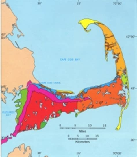geology of cape cod glacial cape cod geologic history of cape cod by robert n