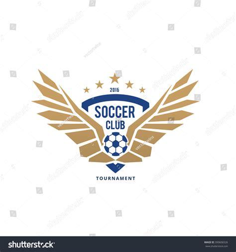 Soccer Club Logofootball Logovector Logo Template Vectores En Stock 399606526 Shutterstock Nightclub Logo Template