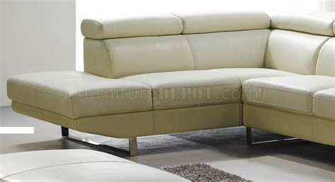 off white leather sectional sofa off white top grain full leather modern sectional sofa