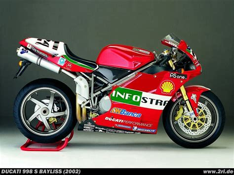 Modell Motorräder Ducati by Ducati Superbike 998s Quot Bayliss Quot 2002 2ri De