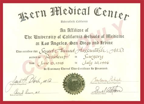 Medical Degree Certificate Ideal Vistalist Co Maryland High School Diploma Template