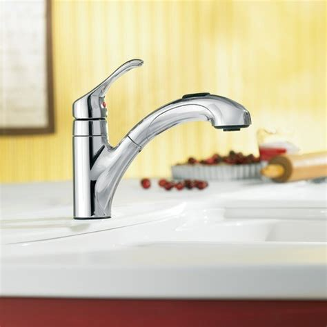 moen renzo kitchen faucet moen renzo chrome one handle low arc pullout kitchen