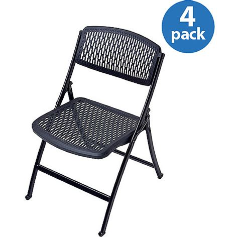 Folding Chairs Walmart by Flex One Folding Chairs Set Of 4 Colors