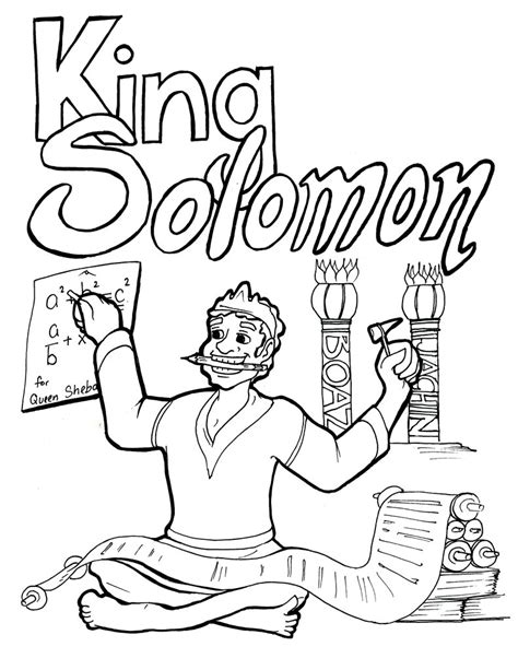king solomon coloring pages cool king coloring pages print page wise king solomon was the wisest of all in story saul coloring
