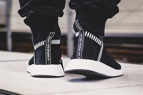 Kith X Adidas Nmd City Shock 2 Grey the adidas nmd city sock 2 primeknit shock pink pack arrives this weekend kicksonfire