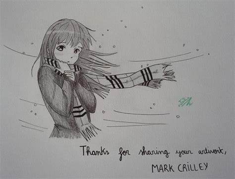 how to draw by markcrilley with a scarf from crilley s by