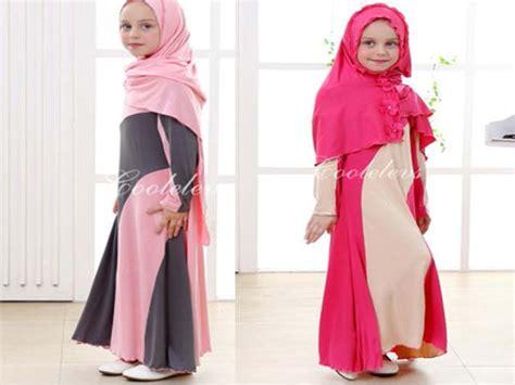 Gamis Anak Brukat Tren Baju Muslim Anak Untuk Bulan Ramadhan Dan Lebaran