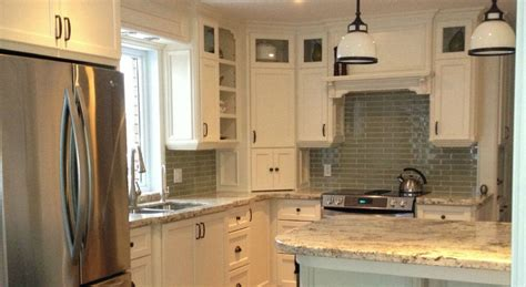 Custom Kitchen Furniture arctic cream granite 3 8 radius edge profile and custom
