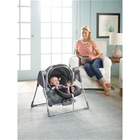 swing to sleep motor snugglider classic connect infant car seat