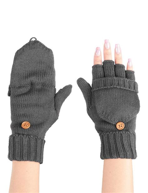 knitting patterns for fingerless gloves with mitten cover 25 unique knitted gloves ideas on fingerless