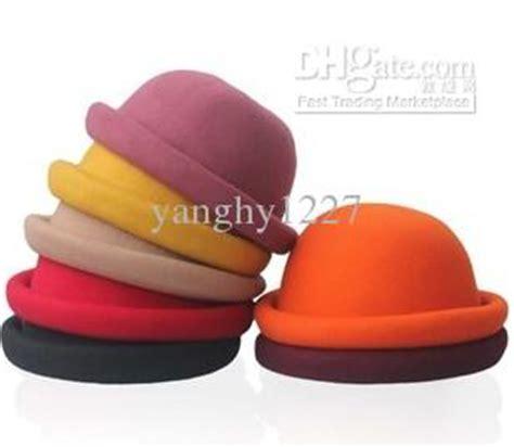 Korean Dome Bowler Hat Cap Topi Fashion Bola Bolo Kubah Wanita 1 korean style fashion hats dome wool caps hat womens edge roll cap stingy brim