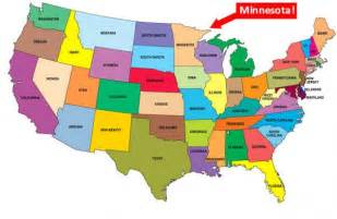 us map minnesota minnesota government shuts here there everywhere