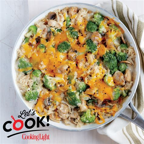 Light Comfort Food by How To Make Chicken Broccoli And Brown Rice Casserole