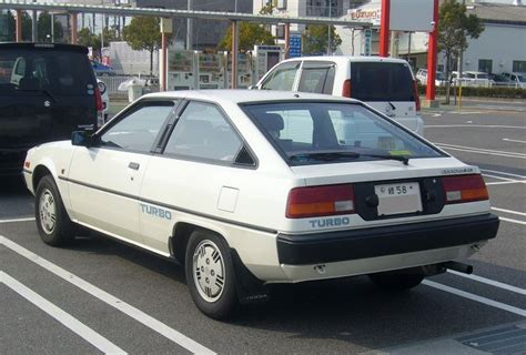 1983 mitsubishi cordia web car mitsubishi cordia xg