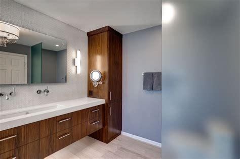 Modern Bathroom Remodel by Bathroom Remodeling Minneapolis St Paul Minnesota