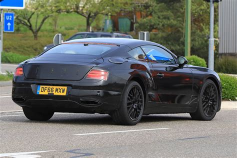 bentley continental bentley continental gt spyshots less camo