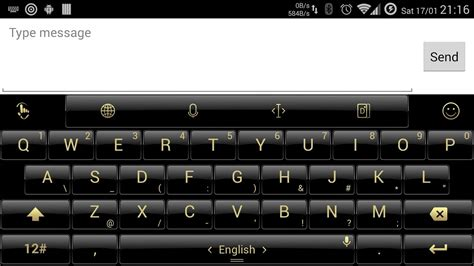 themes for touchpal keyboard theme touchpal dusk black gold android apps on google play