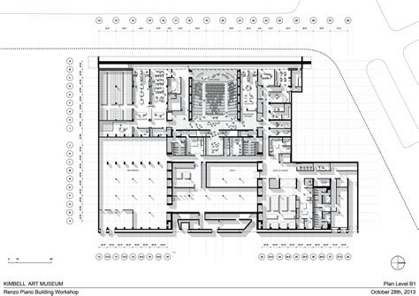 kimbell art museum floor plan gallery of kimbell art museum expansion renzo piano