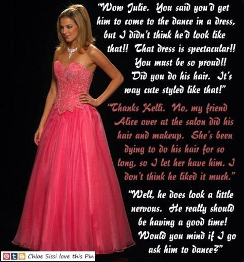 forced crossdressing for prom captions 1000 images about tg captions prom on pinterest sissi