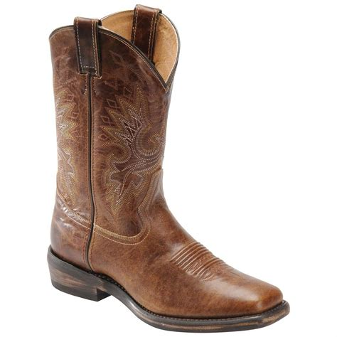 toe boots mens s h boots 174 wide square toe casual western boots