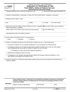 section 170 c 1 of the internal revenue code form 12277 application for withdrawal of filed form 668 y