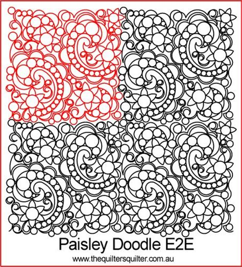 doodle name pat the quilter s quilter digital quilting patterns