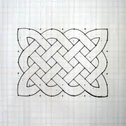 simple drawing patterns how to draw a celtic knot pattern