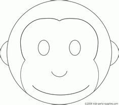 Monkey Template For Cake by Pink Mod Monkey By Dork Chocolate Via Flickr Bday 2