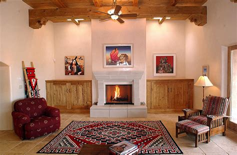 style decorating with wood beams southwest usa