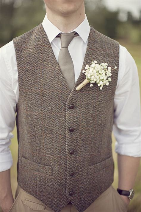 Mens Wedding Attire Vests by Beswoon