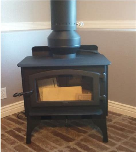 wood stove chimney draft inducer draw collar