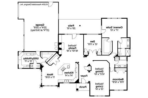 Beautiful Southwest Homes Floor Plans Home Plans Design