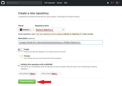 github repository tutorial creating a new git github repository for your xcode