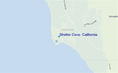 shelter cove california map shelter cove california tide station location guide
