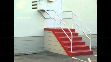 Safety Handrails For Stairs Metal Handrail Safety Issues Stairway