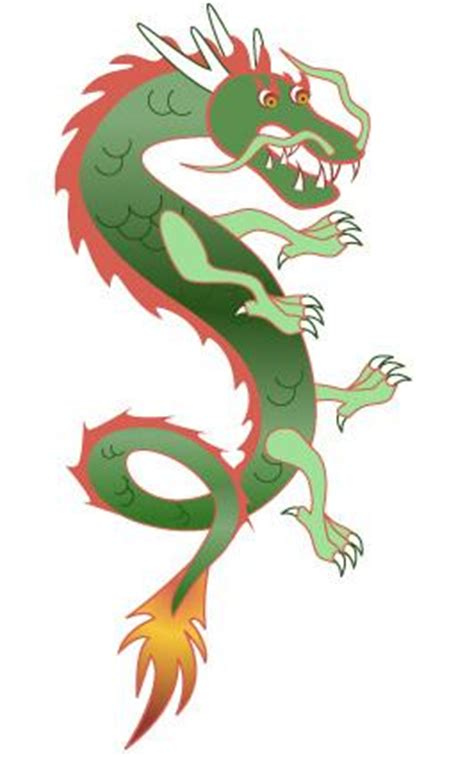 Traditional Interior Design by Chinese Dragon Clip Art Lovetoknow