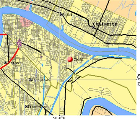 new orleans zip code map map new orleans zip codes images