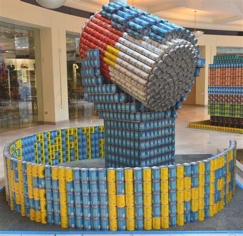 simple canstruction ideas canstruction students design and build colossal