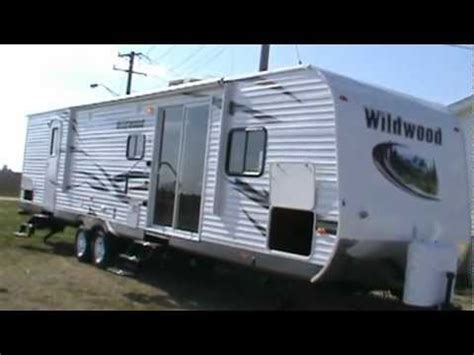 2013 wildwood 37bhss2q travel trailer 2 mbr mpg