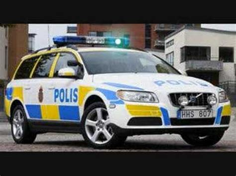 volvo  police animated  sound youtube