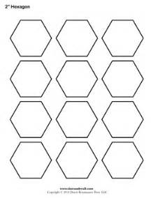 hexagons templates tim de vall comics printables for