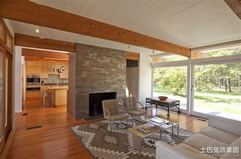 post modern house plans 现代简约风格室内设计客厅效果图 土巴兔装修效果图