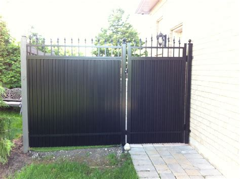 privacy gate and privacy fence omega aluminum